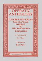 Operatic Anthology: Bass