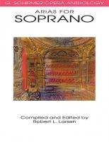 G. Schirmer Opera Anthology: Arias for Soprano