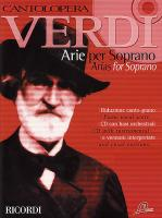 Verdi Arias for Soprano Volume 1