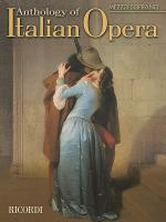 Anthology of Italian Opera: Mezzo-Soprano