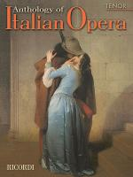 Anthology of Italian Opera: Tenor