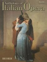 Anthology of Italian Opera: Bass