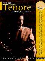Cantolopera: Arias for Tenor Volume 2