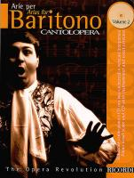 Cantolopera: Arias for Baritone Volume 2