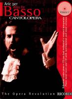 Cantolopera: Arias for Bass Volume 2