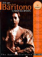 Cantolopera: Arias for Baritone Volume 3