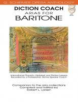 G. Schirmer Opera Anthology: Diction Coach - Arias for Baritone