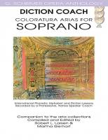 G. Schirmer Opera Anthology: Diction Coach Coloratura Arias for Soprano