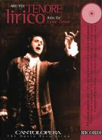 Cantolopera: Arias for Lyric Tenor
